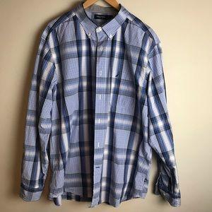 Nautica Men's Button Down Shirt Size XL